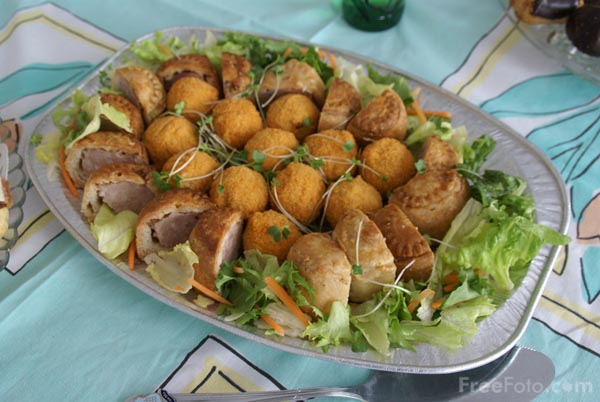 Picture of Party Food - Free Pictures - FreeFoto.com