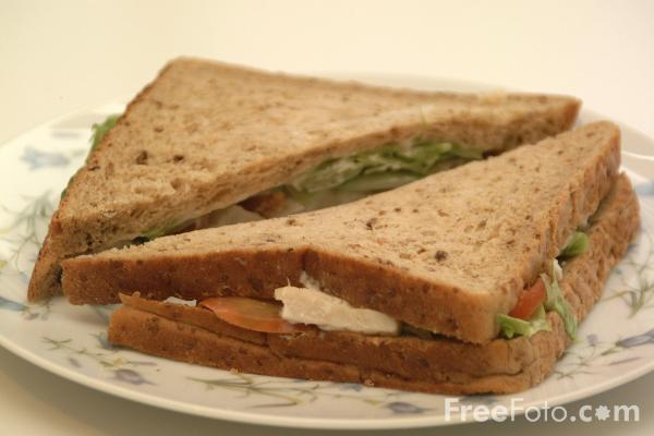 Picture of Sandwich - Free Pictures - FreeFoto.com