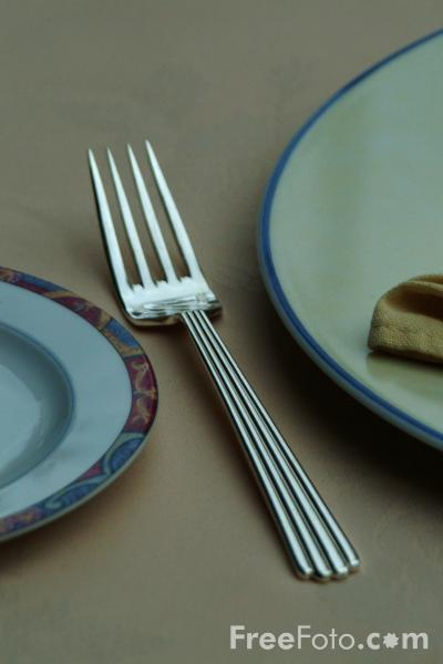 Picture of Place Setting, Table - Free Pictures - FreeFoto.com