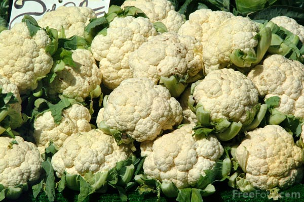 Cauliflower aint no normal flower.