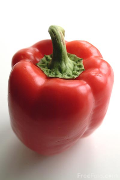 Picture of Red Pepper - Free Pictures - FreeFoto.com