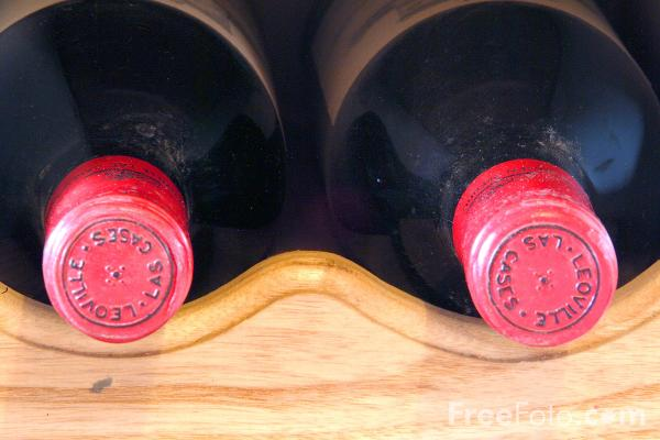 Picture of Bottles of Red Wine - Free Pictures - FreeFoto.com