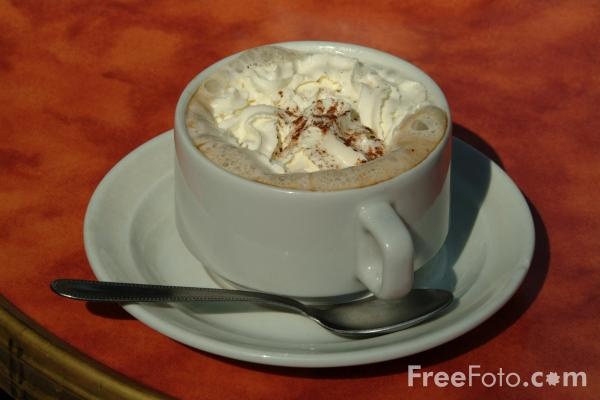 Picture of Cappuccino - Free Pictures - FreeFoto.com