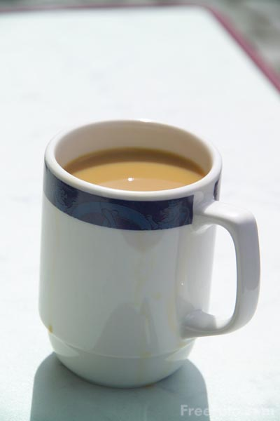 Picture of Cup of Coffee - Free Pictures - FreeFoto.com