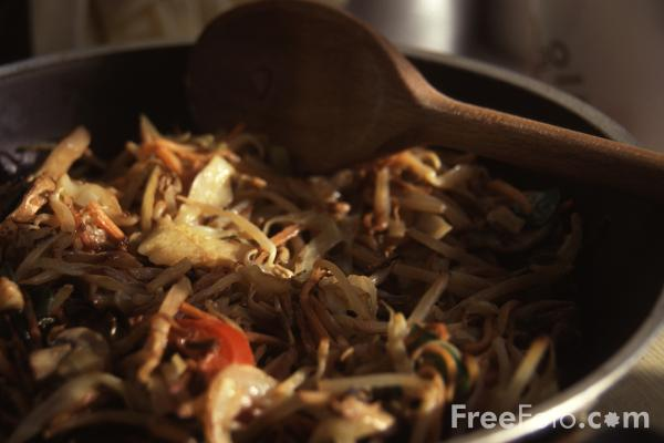 Picture of Stir Fried Vegetables - Free Pictures - FreeFoto.com