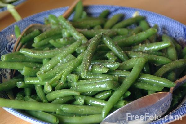 Picture of Green Beans - Free Pictures - FreeFoto.com