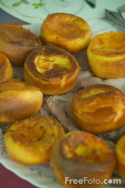 Picture of Yorkshire Pudding - Free Pictures - FreeFoto.com