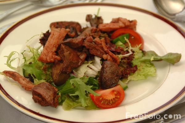 Picture of Liver and Bacon - Free Pictures - FreeFoto.com