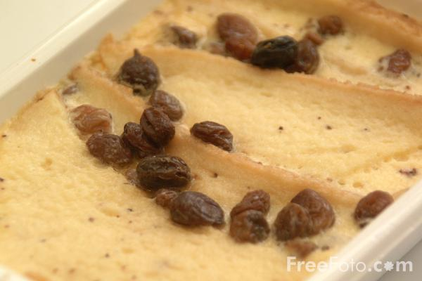 Picture of Bread and Butter Pudding - Free Pictures - FreeFoto.com