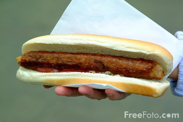 Picture of Sausage - Free Pictures - FreeFoto.com