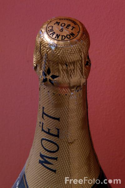 Picture of Moet and Chandon Champagne - Free Pictures - FreeFoto.com