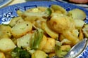 Fried potato and broccoli has been viewed 15204 times