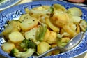 Image Ref: 09-28-9 - Fried potato and broccoli, Viewed 9158 times