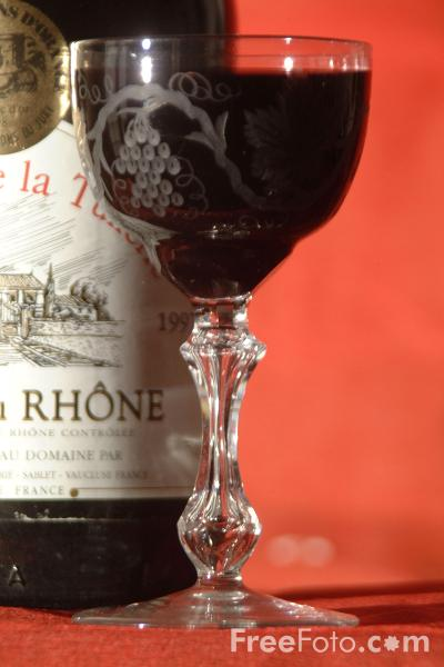 Picture of Red Wine - Free Pictures - FreeFoto.com