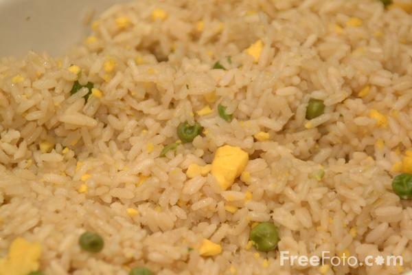 Picture of Rice - Chinese Food - Free Pictures - FreeFoto.com