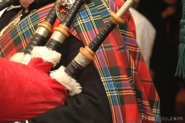 Picture of Bag Pipes - Free Pictures - FreeFoto.com