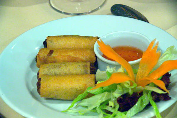 Picture of Spring Rolls - Free Pictures - FreeFoto.com