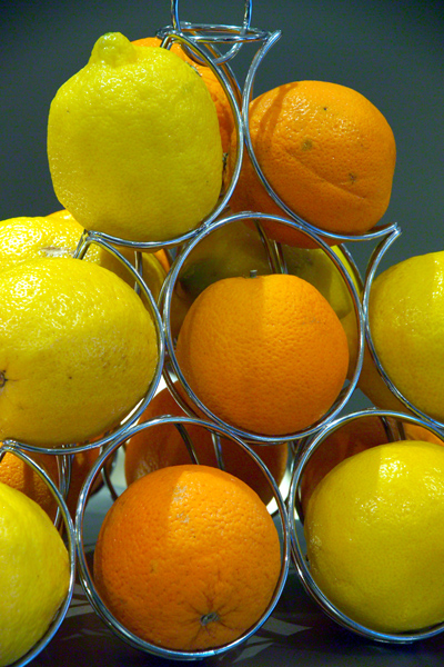 Picture of Oranges and Lemons - Free Pictures - FreeFoto.com