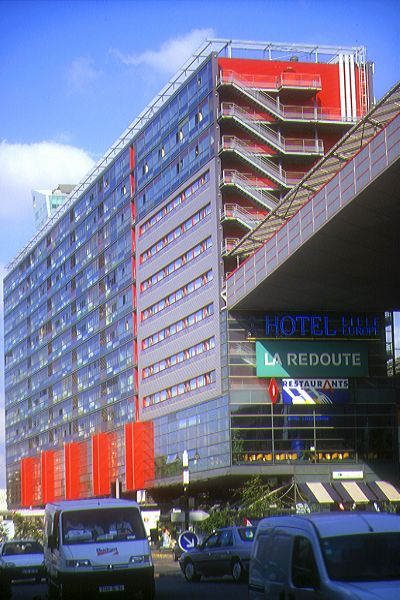 Picture of Office Block, Lille. - Free Pictures - FreeFoto.com