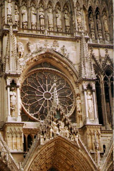 Picture of The Cathedral of Notre Dame, Reims - Free Pictures - FreeFoto.com