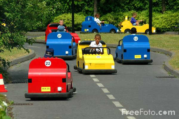 Picture of The Driving School, Legoland, Windsor - Free Pictures - FreeFoto.com