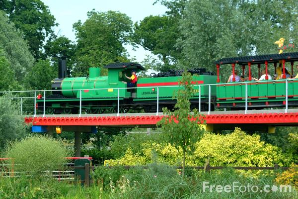 Picture of I Spy Express, Legoland, Windsor - Free Pictures - FreeFoto.com