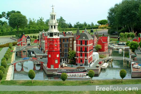 Picture of Holland, Miniland, Legoland, Windsor - Free Pictures - FreeFoto.com