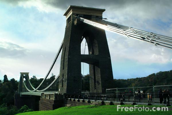 Picture of Clifton Suspension Bridge - Free Pictures - FreeFoto.com
