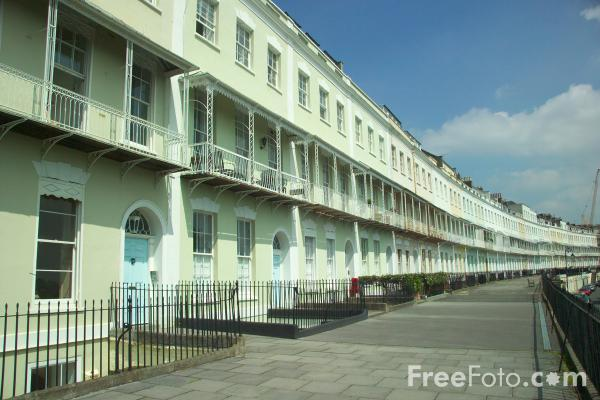 Picture of Royal York Crescent - Free Pictures - FreeFoto.com