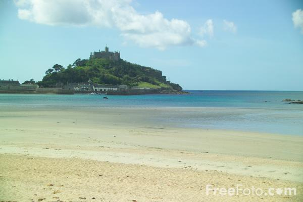 Picture of St Michael's Mount,  Cornwall - Free Pictures - FreeFoto.com