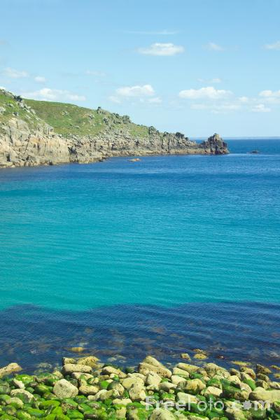 Picture of Lamorna Cove,  Cornwall - Free Pictures - FreeFoto.com
