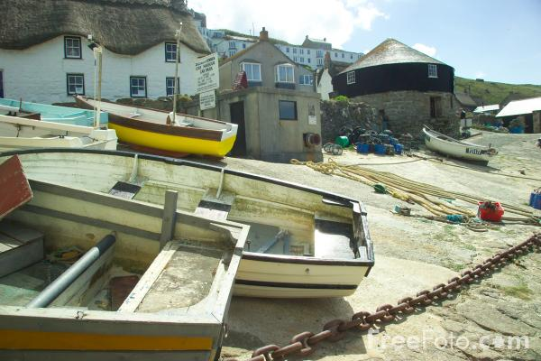 Picture of Sennen Cove,  Cornwall - Free Pictures - FreeFoto.com