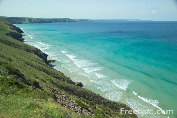 Picture of Chapel Porth,  Cornwall - Free Pictures - FreeFoto.com