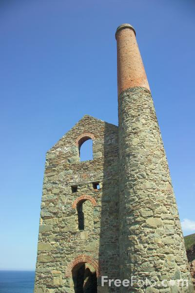 Picture of Wheal Coates near St. Agnes - Free Pictures - FreeFoto.com