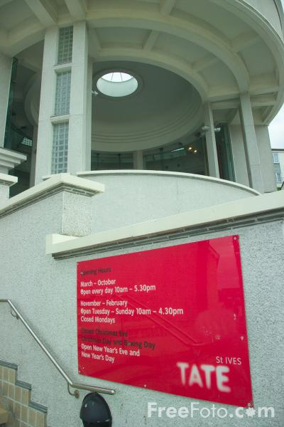 Picture of Tate St Ives, Cornwall - Free Pictures - FreeFoto.com