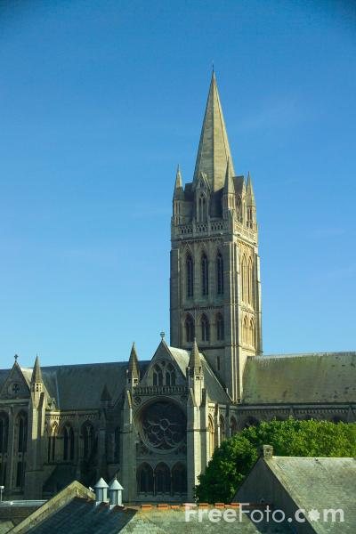 Picture of Truro, Cornwall - Free Pictures - FreeFoto.com