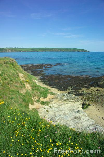 Picture of St Austell Bay, Cornwall - Free Pictures - FreeFoto.com
