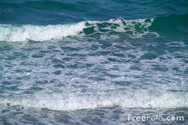 Picture of Saint Agnes Bay, Cornwall - Free Pictures - FreeFoto.com