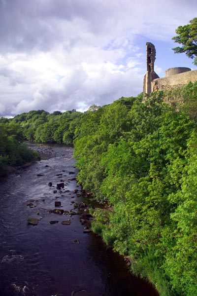 Picture of River Tees, Barnard Castle, County Durham - Free Pictures - FreeFoto.com