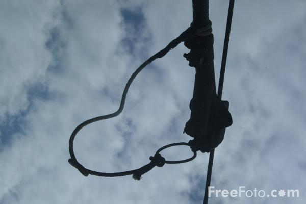 Picture of Tram Electric Cable - Free Pictures - FreeFoto.com
