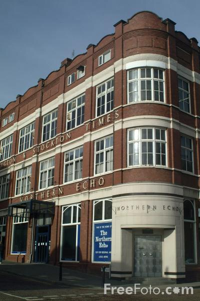 Picture of The Northern Echo Office, Darlington - Free Pictures - FreeFoto.com