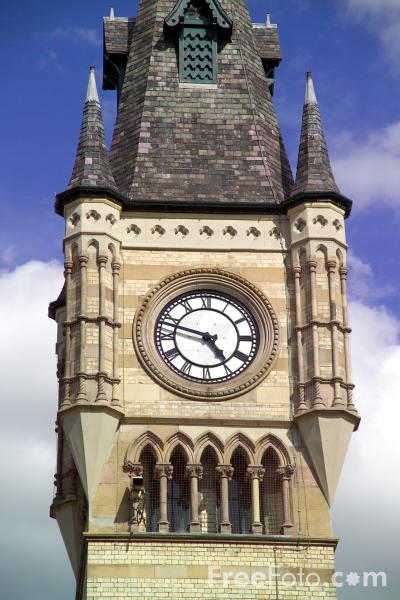 Picture of Clock Tower, Darlington, County Durham - Free Pictures - FreeFoto.com
