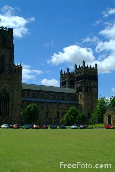 Picture of Durham Cathedral - Free Pictures - FreeFoto.com