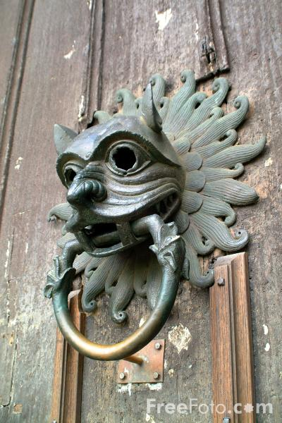 Picture of Sanctuary Knocker, Durham Cathedral - Free Pictures - FreeFoto.com