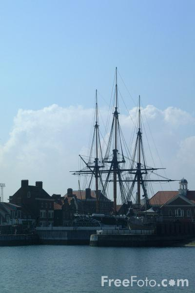 Picture of Trincomalee, Hartlepool Historic Quay and Muesum - Free Pictures - FreeFoto.com