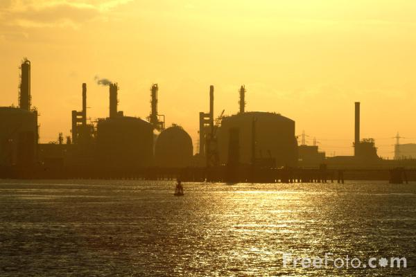 Picture of Chemical Plant, Teesmouth - Free Pictures - FreeFoto.com