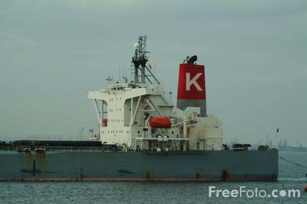 Picture of Bulk Carrier Cape Olive, Teesmouth - Free Pictures - FreeFoto.com