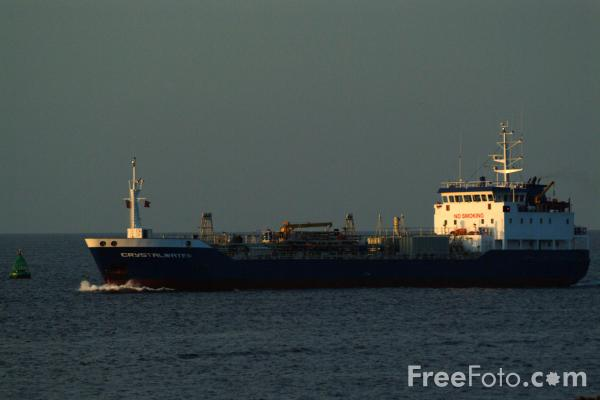 Picture of Tanker Crystalwater, Teesmouth - Free Pictures - FreeFoto.com