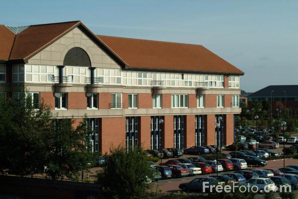 Picture of Business Park, Stockton on Tees - Free Pictures - FreeFoto.com