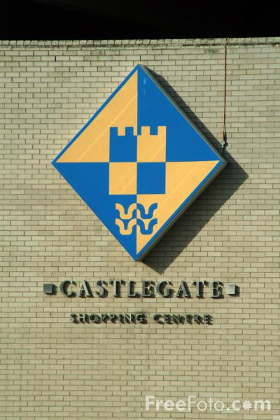 Picture of Castlegate Shopping Centre, Stockton on Tees - Free Pictures - FreeFoto.com